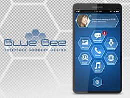 手机界面设计--BlueBee