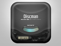 图标琐记 - 05. SONY D-141 CD WALKMAN