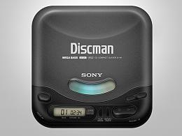 图标琐记 - 05. SONY D-141 CD WALKMAN
