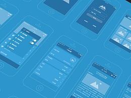 Action 这款App的部分原型图
