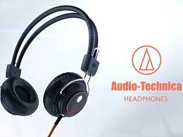Audio-Technica 耳机广告