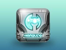 金属质感icon图标~制作过程像个蝴蝶哈