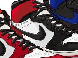 球鞋. 绘.
