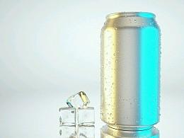 #练习#冷凝效应的易拉罐与冰