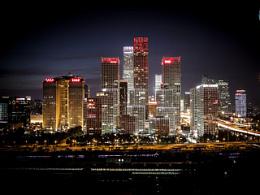 国贸夜景拍摄