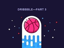 Dribbble整理插画图标