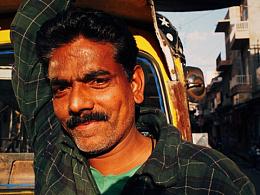 「还原 | 色彩之美」一个人的印度