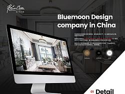 Bluemoon design官网设计提案