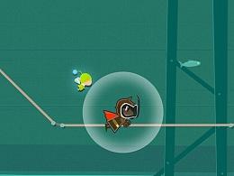 公司IOS风格轨迹跟踪小游戏《营救公主》素材截图