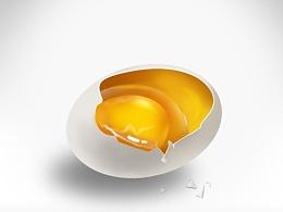 习作~   临摹-鸡蛋