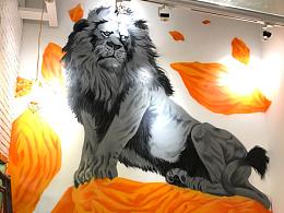 宝狮杂碎小食馆 涂鸦