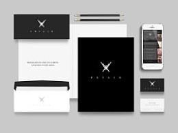 PXYAIR Brand Lab 2014版本的个人网站/VI视觉系统/APP