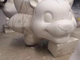 特色小镇3D雕塑