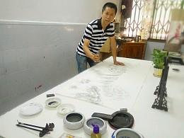 分享国画《春溢祥瑞图》创作过程