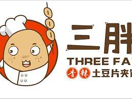 三胖香辣土豆片夹馍