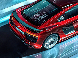 CGI摄影 Audi R8
