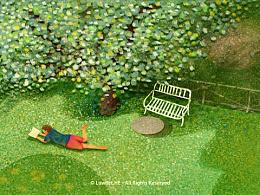 [插画] 佩鲁贾的某花园