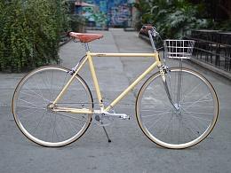TSUNAMI复古城市内二速变速自行车