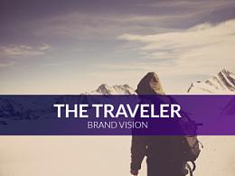 旅人户外品牌视觉(毕业设计)