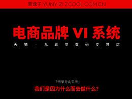 电商品牌 VI 系统(九五堂数码专营店)