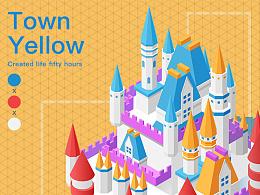 Town Yellow 2.5D