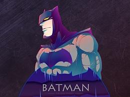 BATMAN 蝙蝠侠同人插画