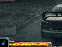 机械赛车风格游戏界面