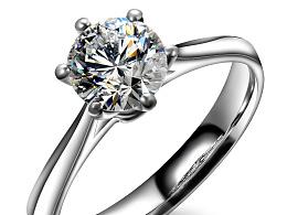 钻石戒指修图