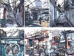 【北京+广州】手绘合集