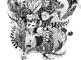绿窝GREENHOME,插画海报