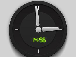 现代感时钟