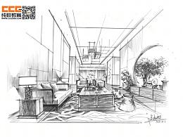 连柏慧设计师创意快速手绘表现
