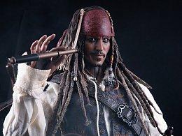 hottoys DX06 加勒比海盗 杰克斯派洛船长