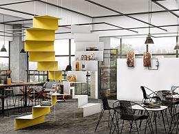 同普大厦701室220平方意想不到的创意办公空间