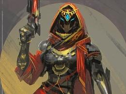 Destiny同人画-印度Fireteam