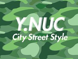Y.NUC城市街头迷彩