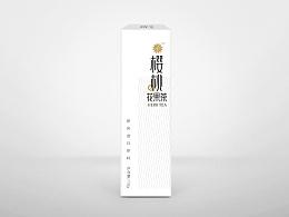 几何花果茶包装设计