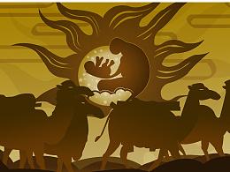"""""""敦煌元素""""   关于丝绸之路的神奇传说"""