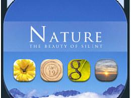 《Nature》go桌面主题