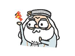 魔性小人头像-哈利波特同人
