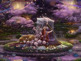 花枝春满 · 子时雨