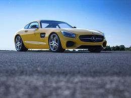 Mercedes Benz AMG-GT CGI练习