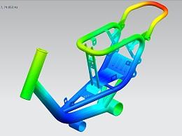 18紫酷—车架模态分析