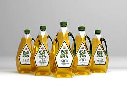 某茶油品牌油瓶包装及油桶瓶贴(初步汇总)