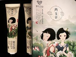 草木之心【双生花】产品实物拍摄