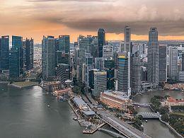 航拍新加坡
