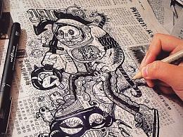 2015尾巴杂记之插画汇总
