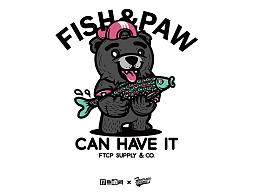 《打鱼晒网》联名设计版T恤