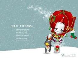 FUBO福宝插画(桌面)-Merrychristmas