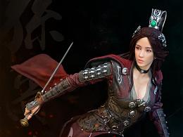 开天三国1/4系列 首款女将 孙尚香